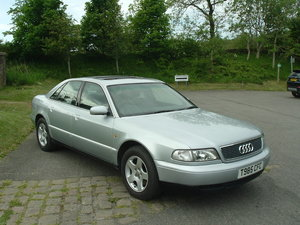 1999 99/T Audi A8 2.8 (2WD) Automatic. FSH. SOLD