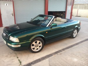 1998 Audi Cabriolet 1.8 manual - Low Mileage and Owners
