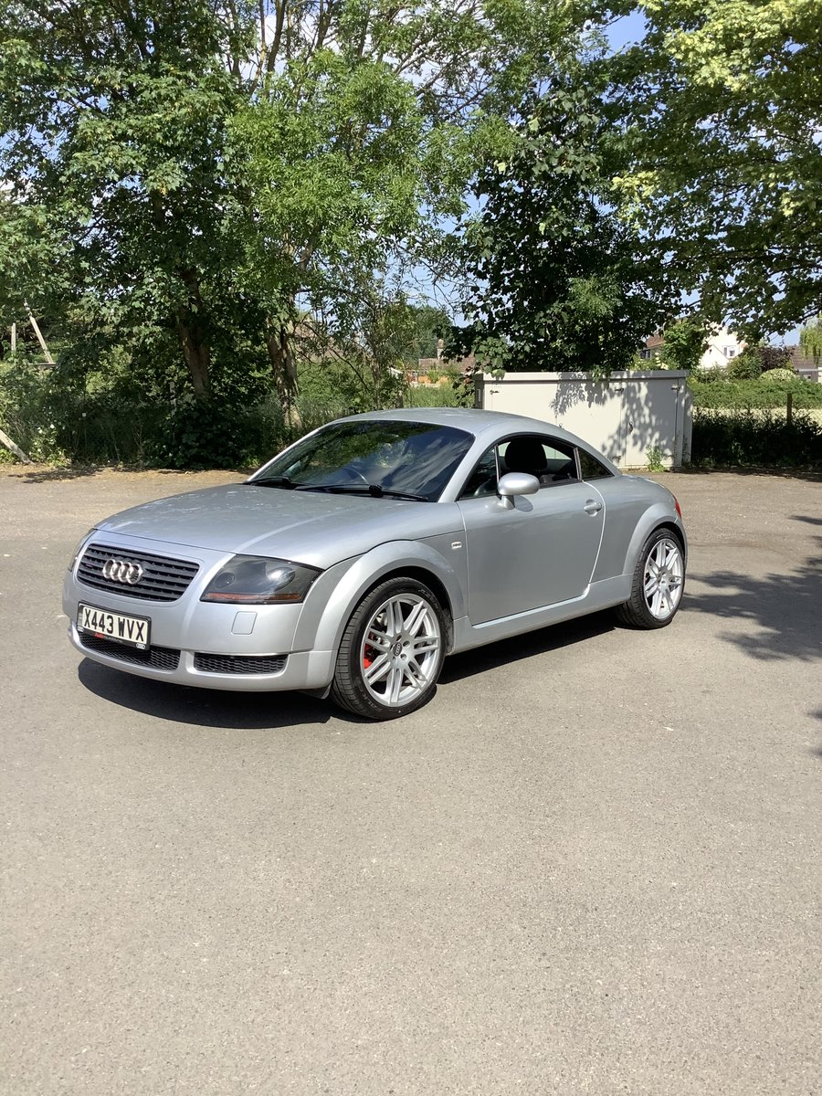 2001 Audi TT Coupe 225 BHP For Sale (picture 1 of 6)