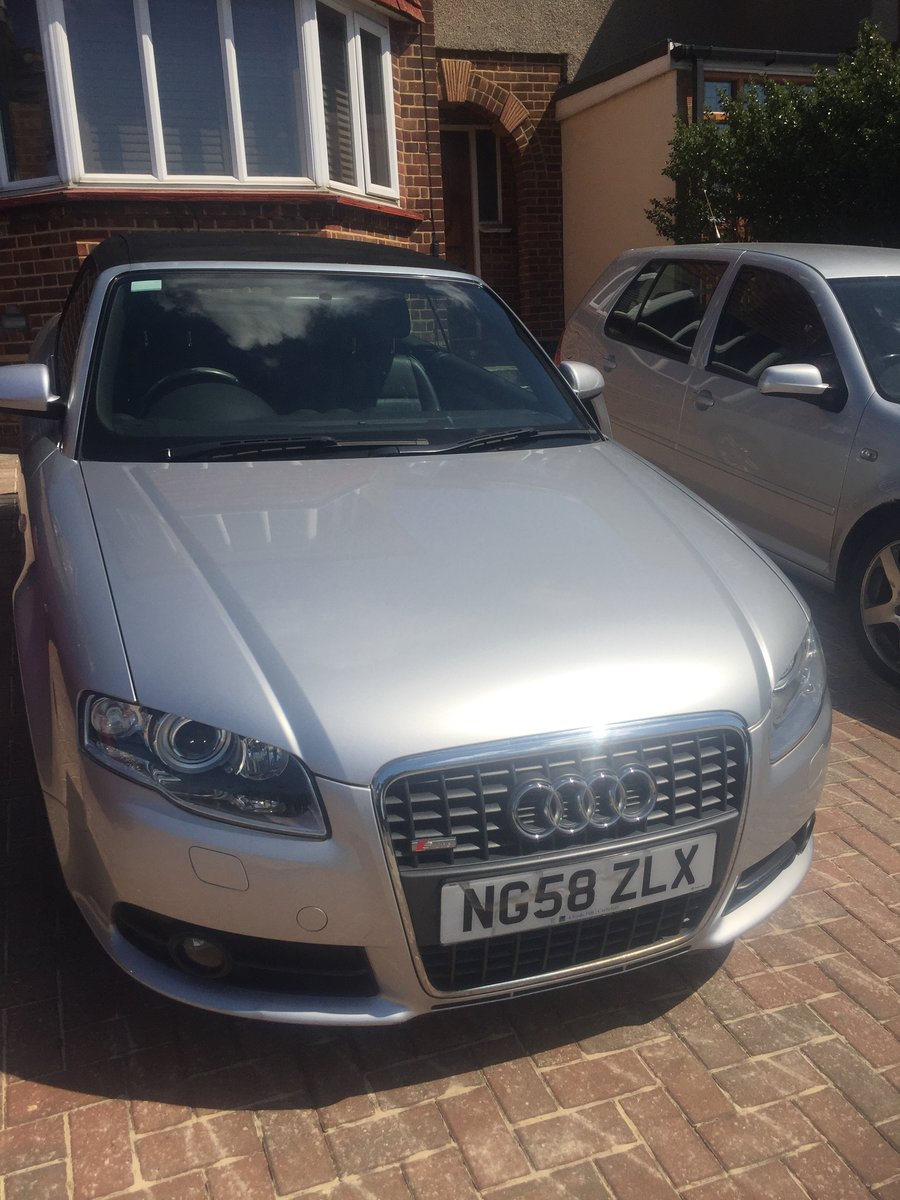 2008 Audi A4 2 owner full history 64000 miles For Sale (picture 3 of 6)