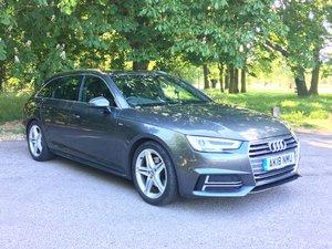2018 Audi A4 Avant s line auto  6,900 miles 1 owner
