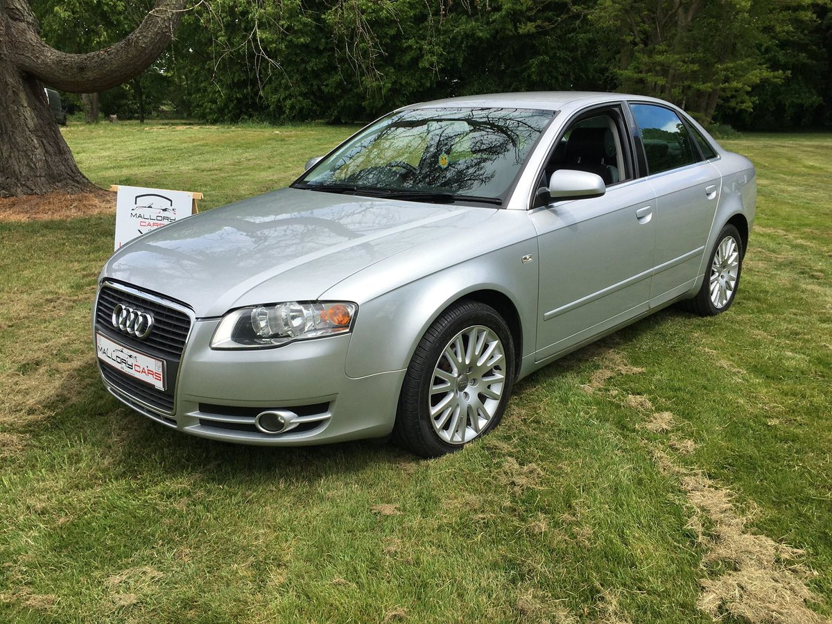 2005 A4 good example with Alloy wheels and Leather For Sale (picture 1 of 6)