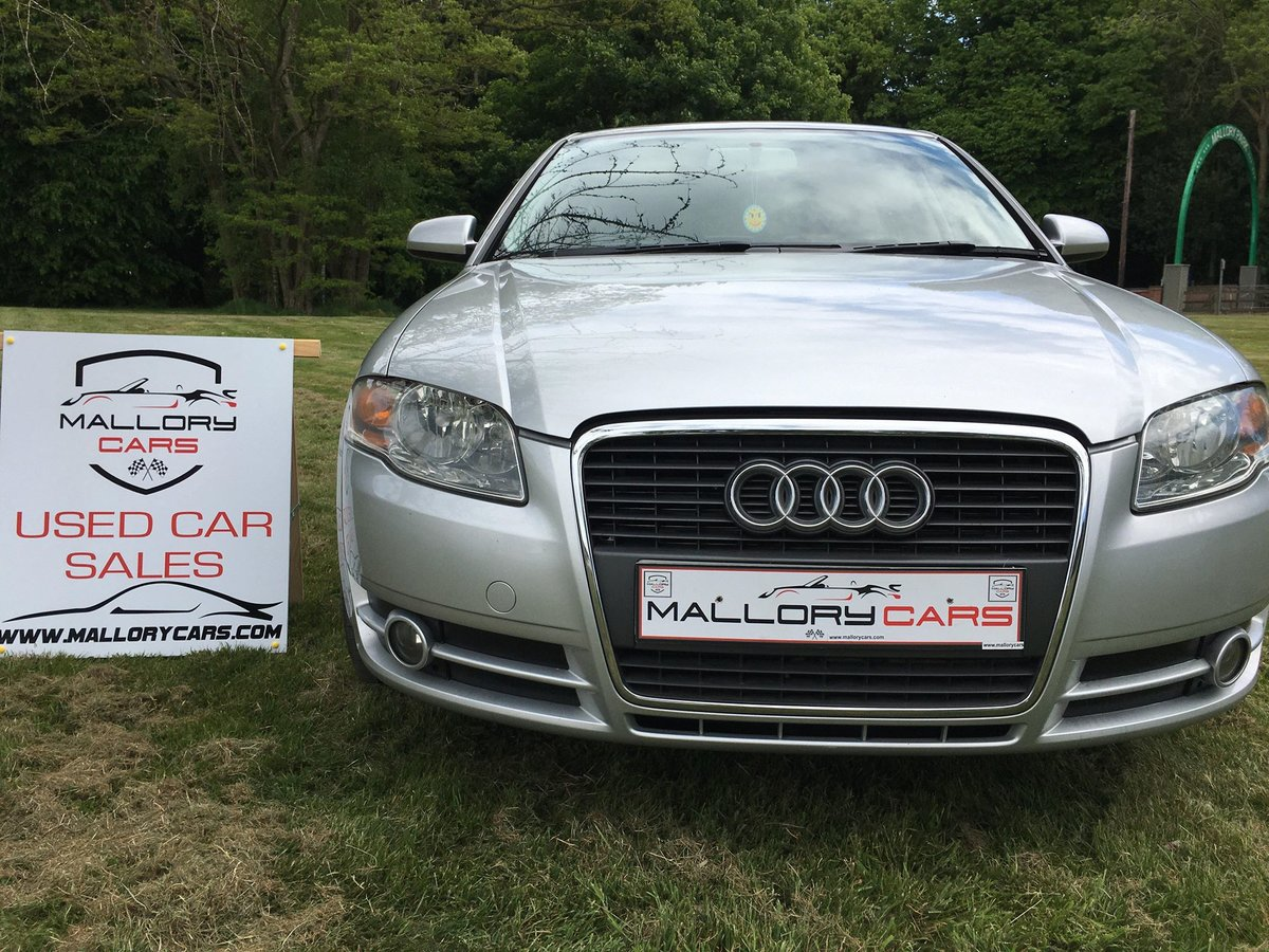 2005 A4 good example with Alloy wheels and Leather For Sale (picture 3 of 6)
