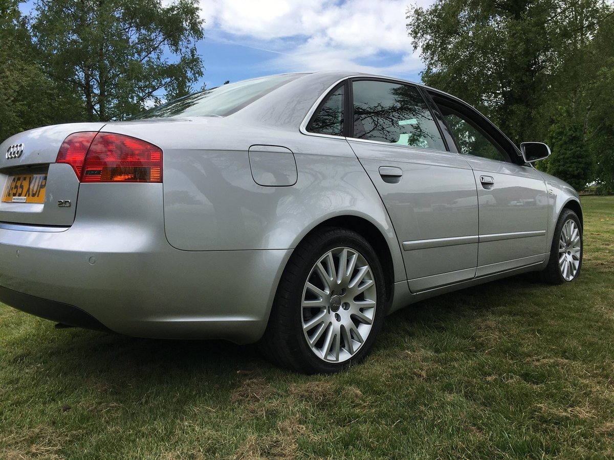 2005 A4 good example with Alloy wheels and Leather For Sale (picture 4 of 6)