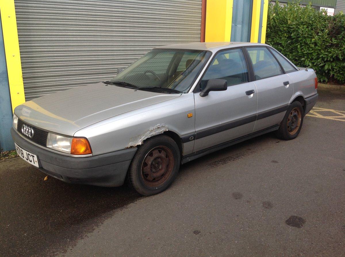 1991 Audi 80 E  For Sale (picture 1 of 6)