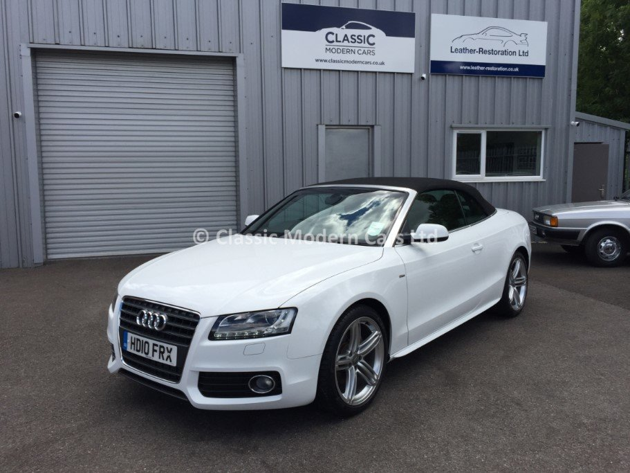 2010 Audi A5 Cabriolet S-Line TFSI - 5K MILES! One Owner, ULEZ - For Sale (picture 2 of 12)