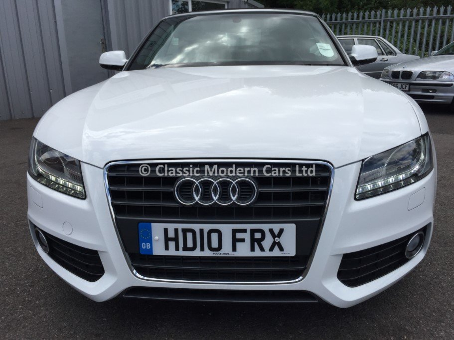 2010 Audi A5 Cabriolet S-Line TFSI - 5K MILES! One Owner, ULEZ - For Sale (picture 3 of 12)