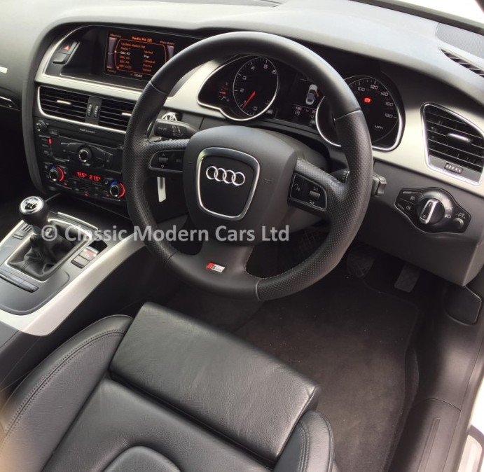 2010 Audi A5 Cabriolet S-Line TFSI - 5K MILES! One Owner, ULEZ - For Sale (picture 4 of 12)
