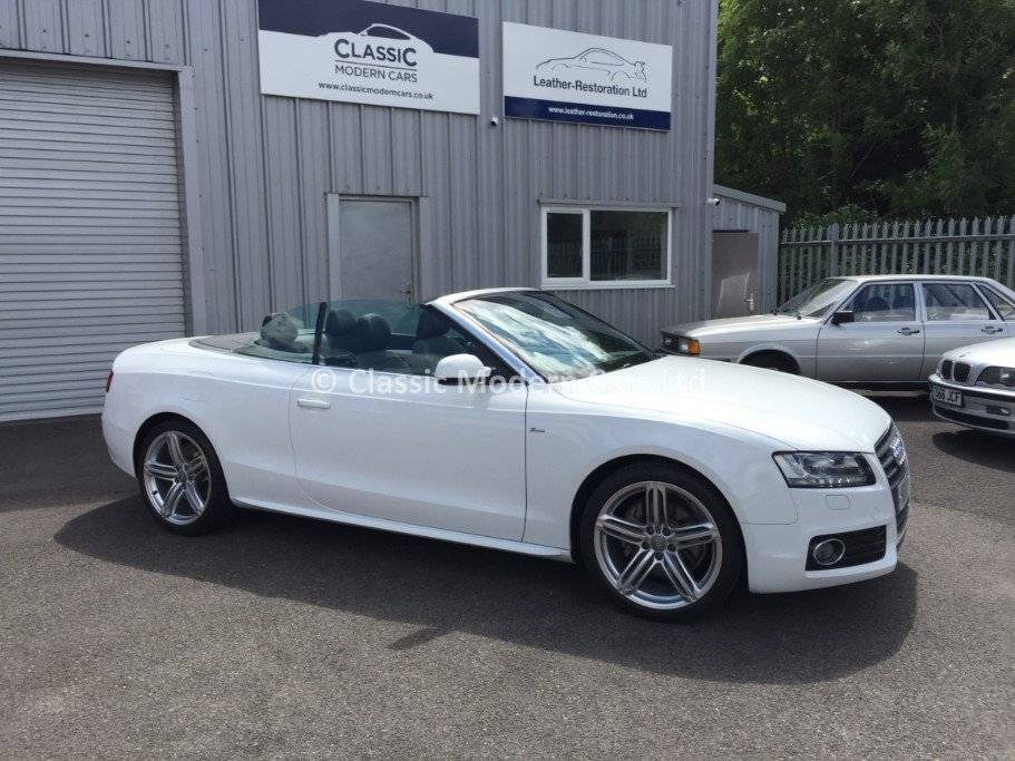 2010 Audi A5 Cabriolet S-Line TFSI - 5K MILES! One Owner, ULEZ - For Sale (picture 1 of 12)