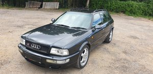 Audi 80 rs2 avant 2.2 turbo in volcano black