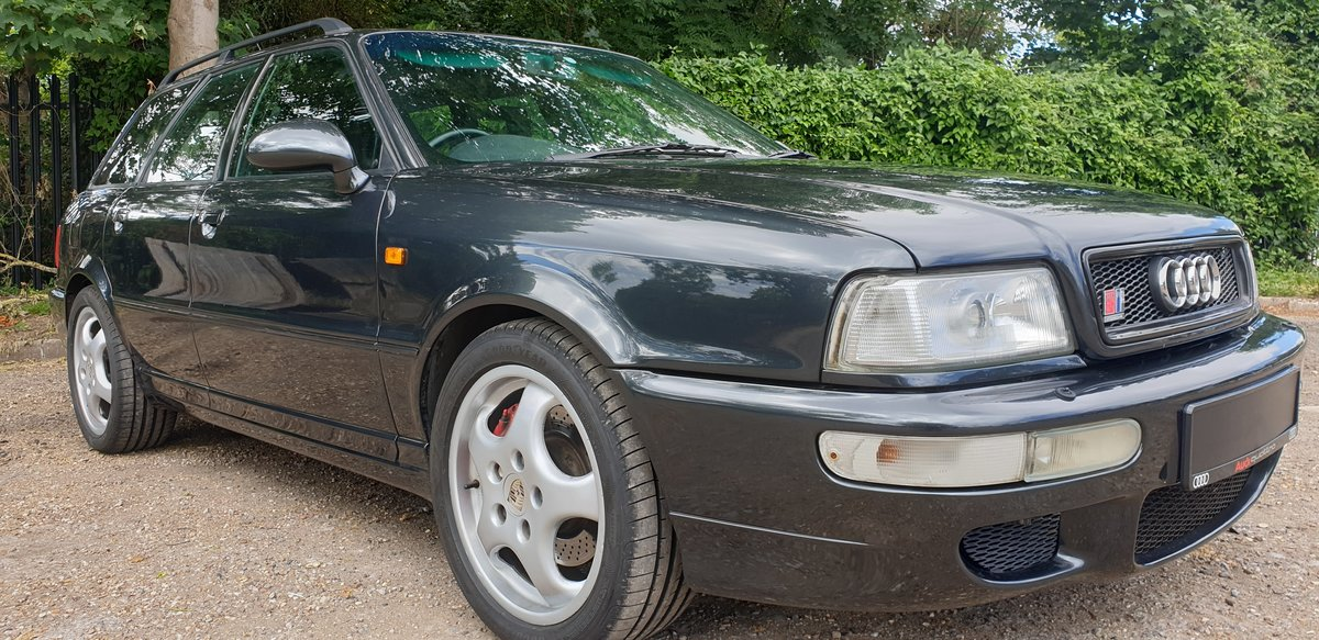 1995 Audi 80 rs2 avant 2.2 turbo in volcano black For Sale (picture 5 of 6)