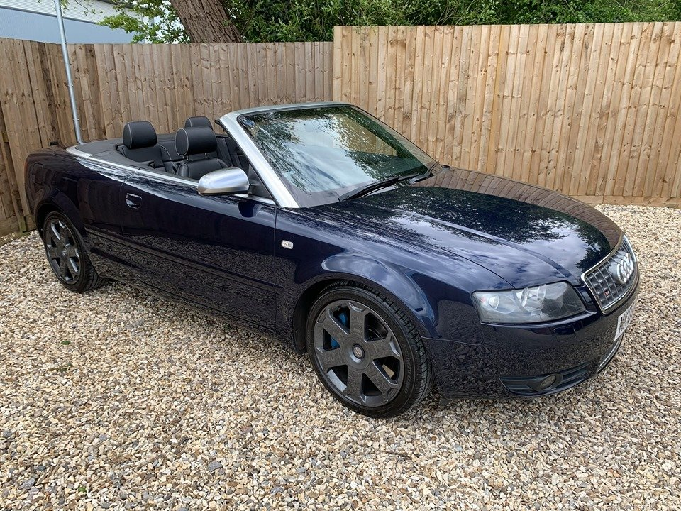 2005 Stunning audi s4 cabriolet 4.2 quattro For Sale (picture 1 of 6)