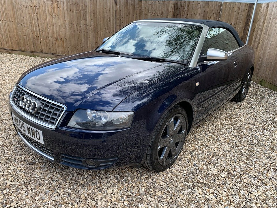 2005 Stunning audi s4 cabriolet 4.2 quattro For Sale (picture 3 of 6)