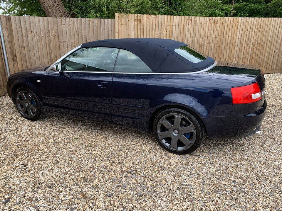 2005 Stunning audi s4 cabriolet 4.2 quattro For Sale (picture 4 of 6)