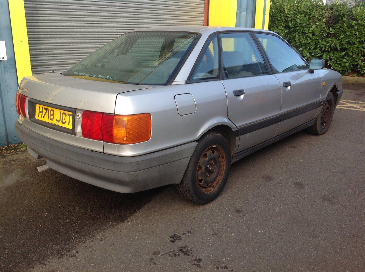 1991 Audi 80 E  For Sale (picture 2 of 6)