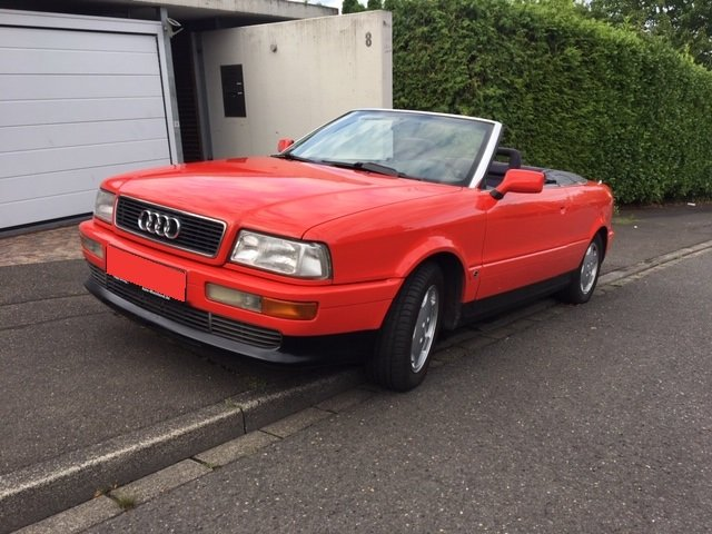 1994 Audi Cabriolet 2.8 V6 Beautiful & original For Sale (picture 1 of 3)