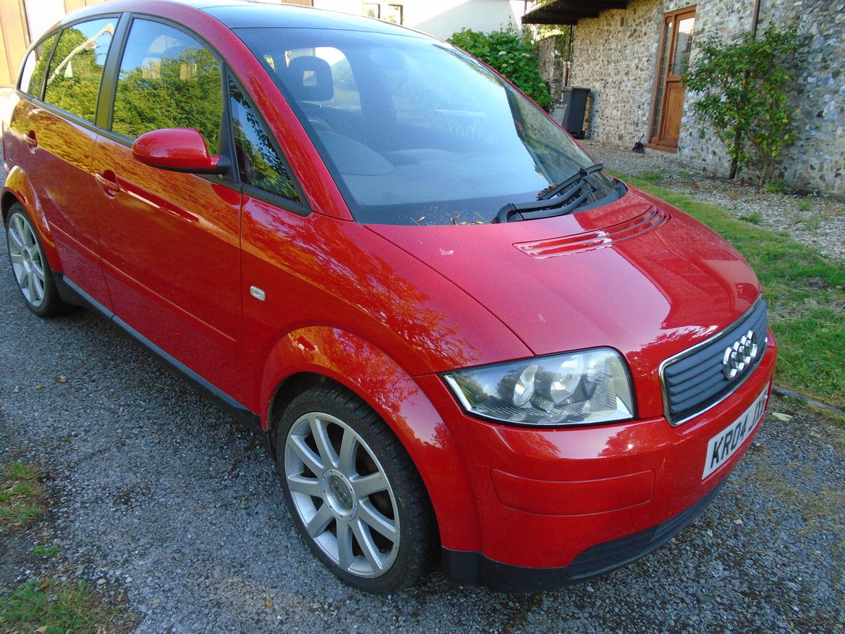 2004 Audi A2 1.6 FSI SPORT SOLD (picture 2 of 4)