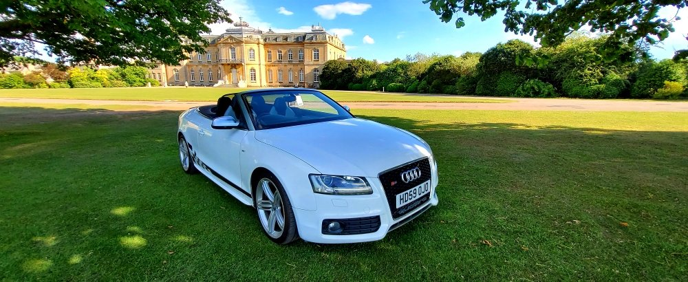 2010 Audi S5 3.0 TFSI, Convertible, S-Tronic, Quattro For Sale (picture 1 of 6)