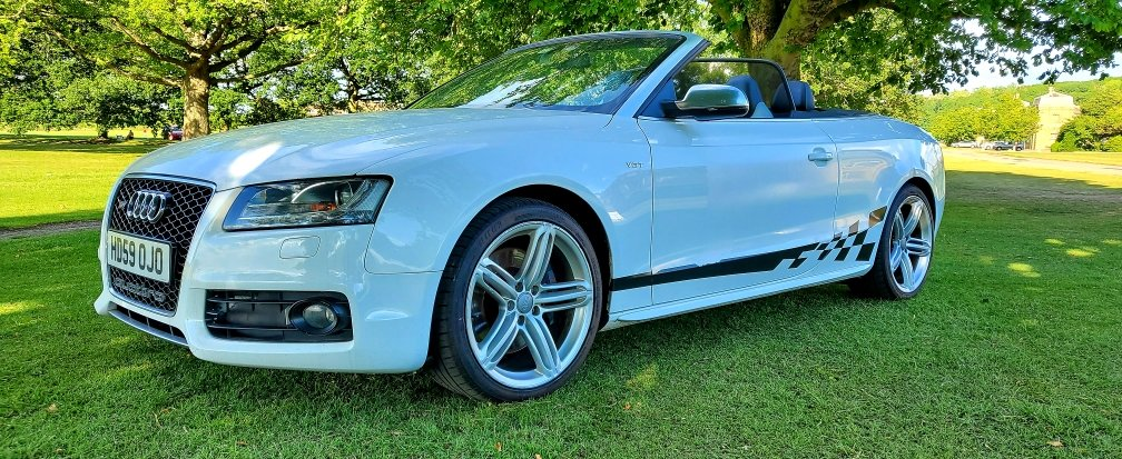 2010 Audi S5 3.0 TFSI, Convertible, S-Tronic, Quattro For Sale (picture 3 of 6)
