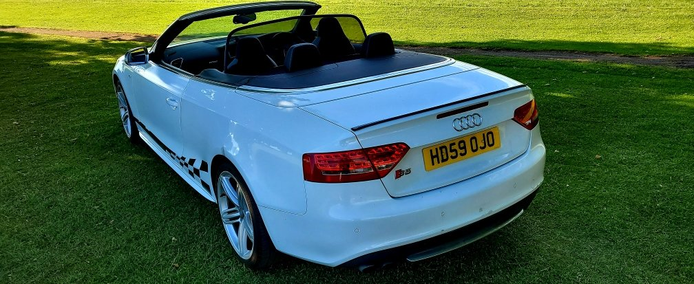 2010 Audi S5 3.0 TFSI, Convertible, S-Tronic, Quattro For Sale (picture 4 of 6)