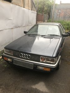 1986 Audi b2 coupe quattro non sunroof