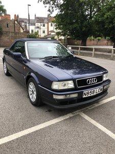 1996 Audi Cabriolet 2.6E Manual 1 owner 17,400mls