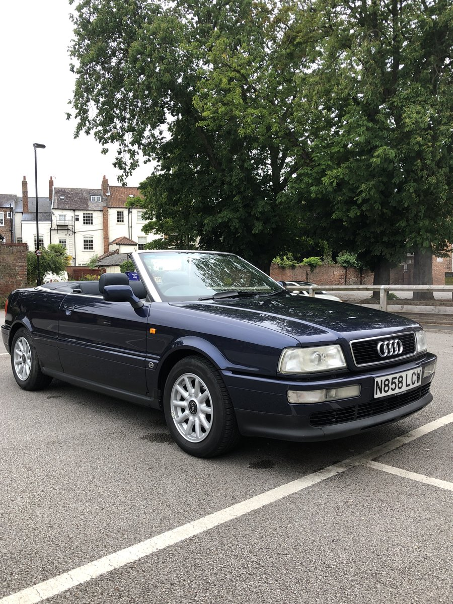 1996 Audi Cabriolet 2.6E Manual 1 owner 17,400mls SOLD (picture 5 of 6)