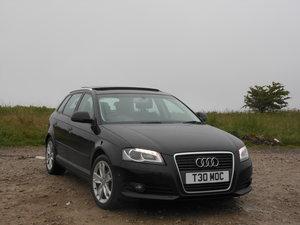 2008 Audi A3 2.0 TDI 140BHP Sport PAnroof+LTHR+SAT/NAV