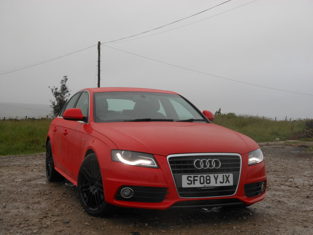 2008 Audi A4 2.0 TDI S-Line 143BHP 6SPD NEW Shape SOLD (picture 1 of 6)