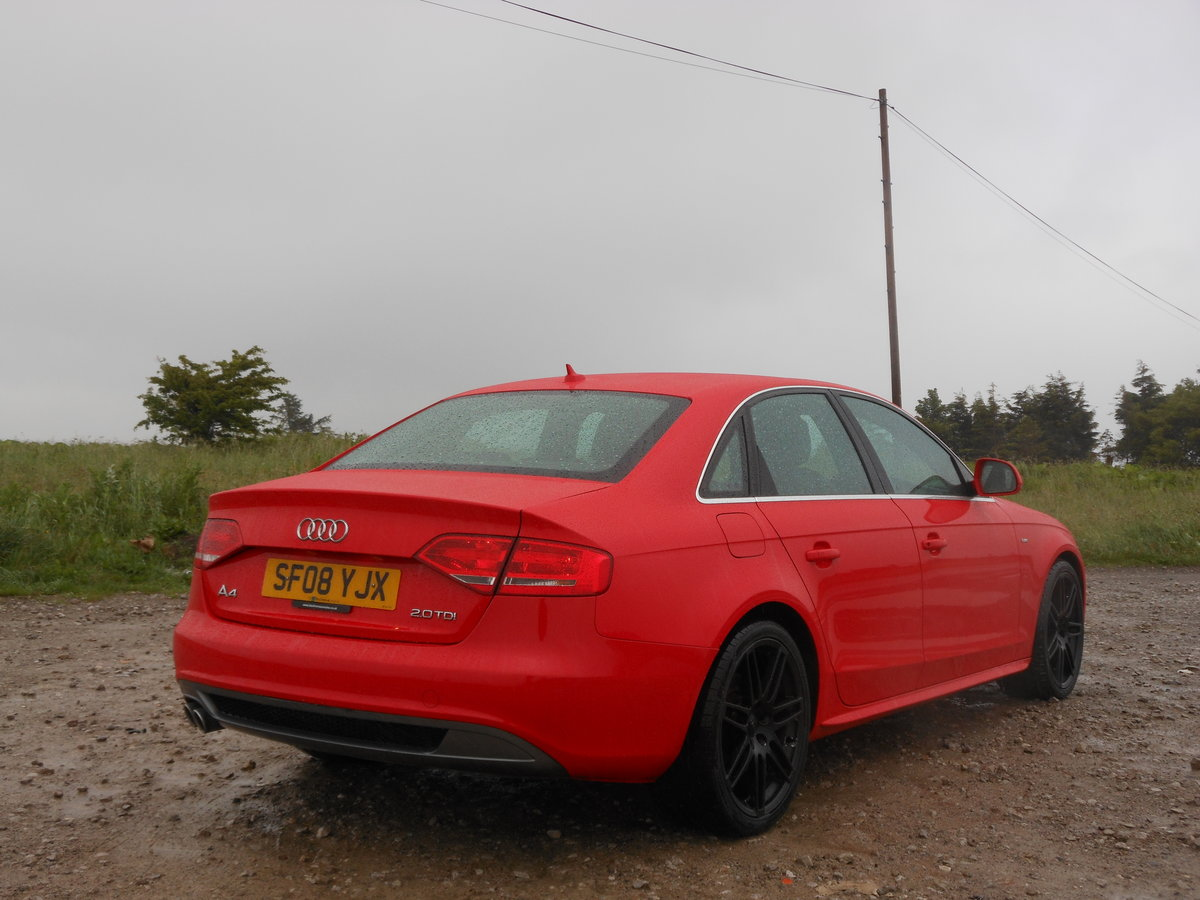 2008 Audi A4 2.0 TDI S-Line 143BHP 6SPD NEW Shape SOLD (picture 2 of 6)