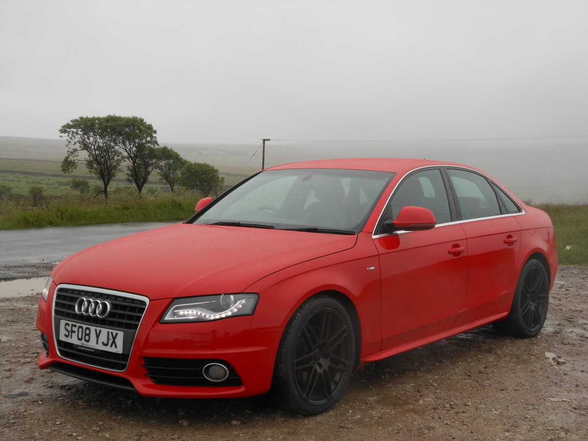 2008 Audi A4 2.0 TDI S-Line 143BHP 6SPD NEW Shape SOLD (picture 4 of 6)