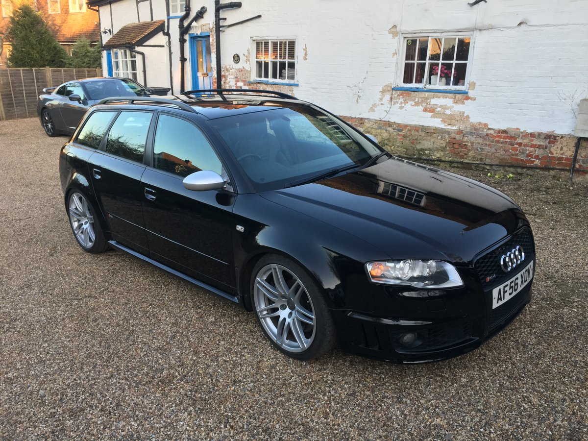 2006 Audi RS4 Avant, Optics pack, 450bhp For Sale (picture 1 of 6)