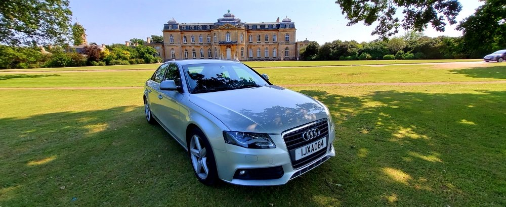 2008 LHD Audi A4 2.0 TDI SE, AUTOMATIC, LEFT HAND DRIVE For Sale (picture 1 of 6)