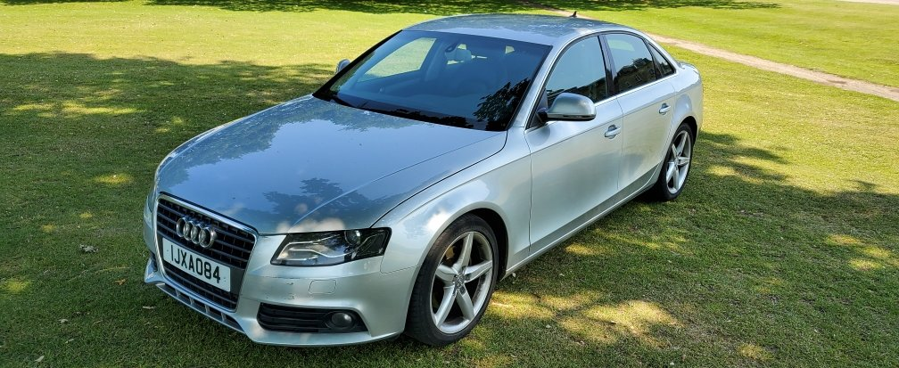2008 LHD Audi A4 2.0 TDI SE, AUTOMATIC, LEFT HAND DRIVE For Sale (picture 2 of 6)