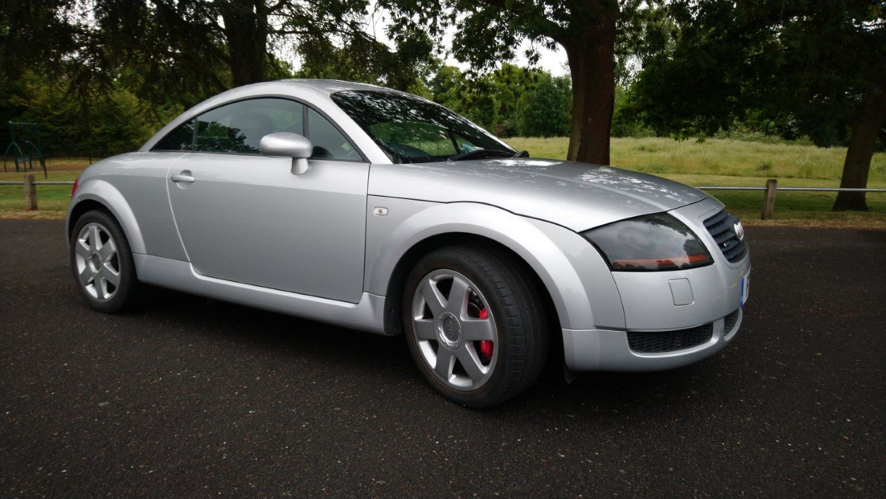 2001 Audi TT Coupe 225 quattro, Avus Silver, FSH For Sale (picture 1 of 6)