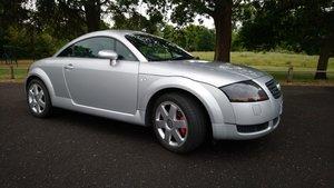 Audi TT Coupe 225 quattro, Avus Silver, FSH