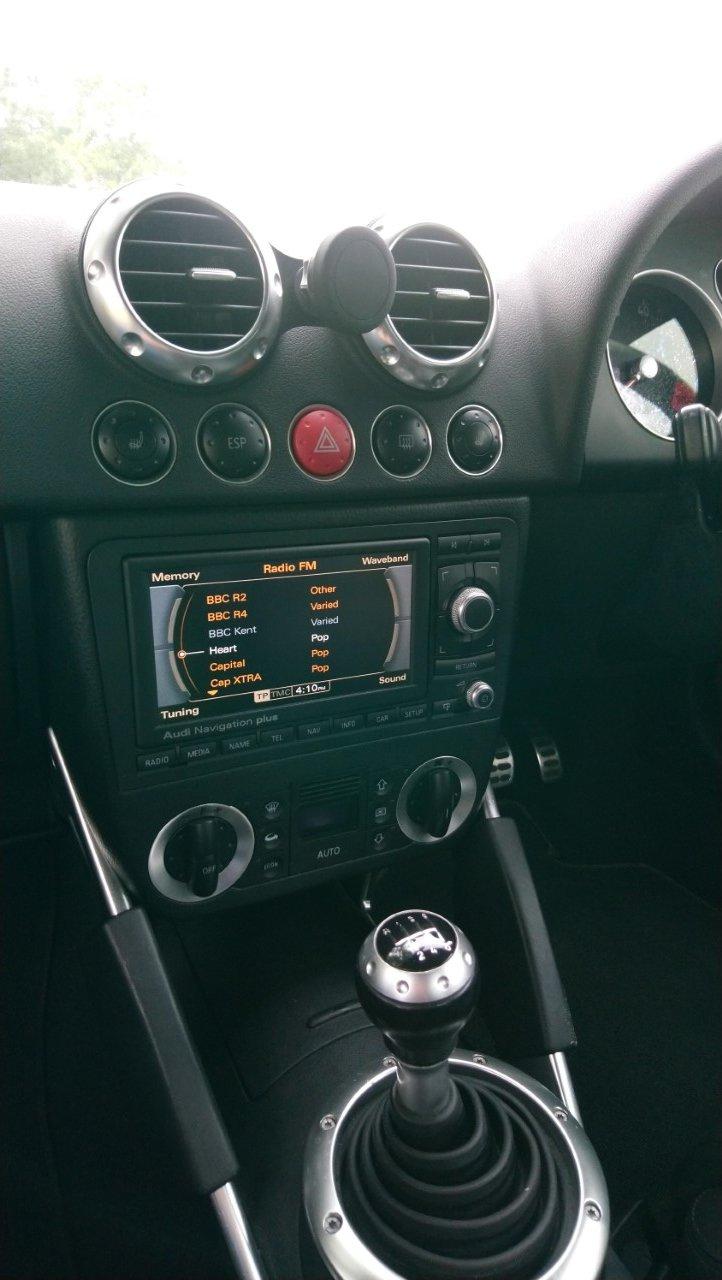 2001 Audi TT Coupe 225 quattro, Avus Silver, FSH For Sale (picture 4 of 6)