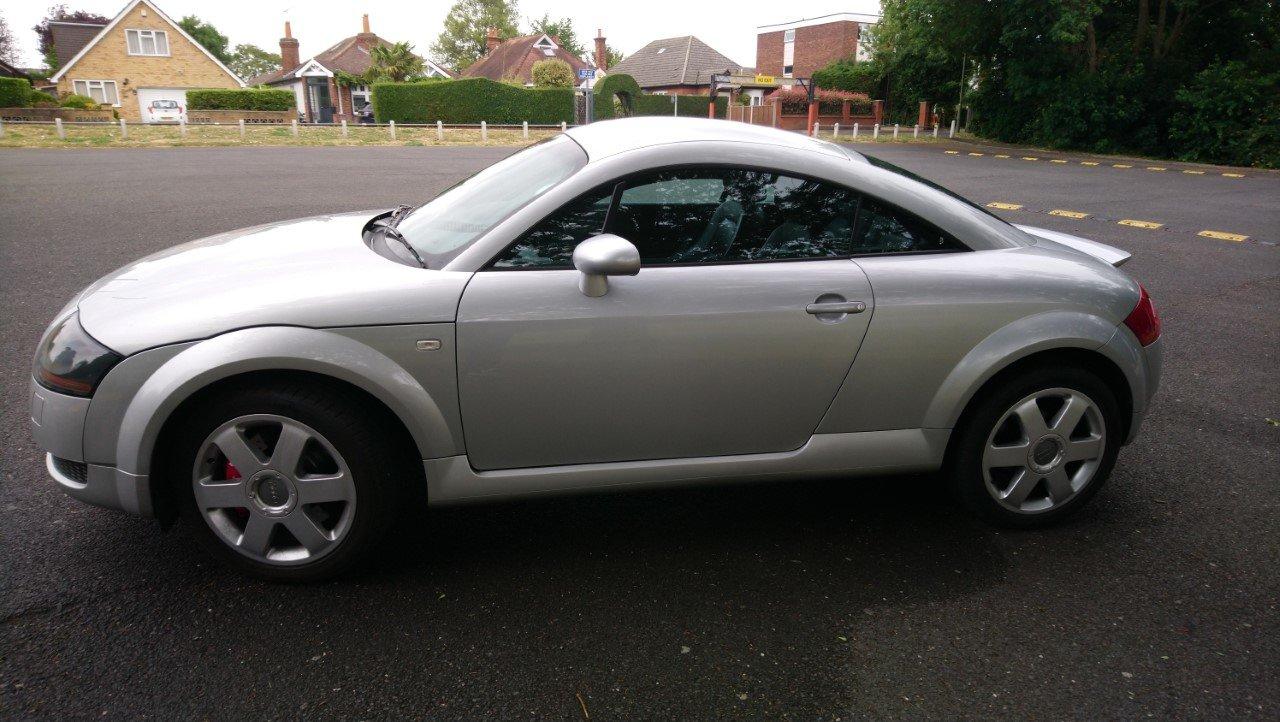 2001 Audi TT Coupe 225 quattro, Avus Silver, FSH For Sale (picture 6 of 6)