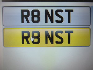 Audi R8 Private Registration Number