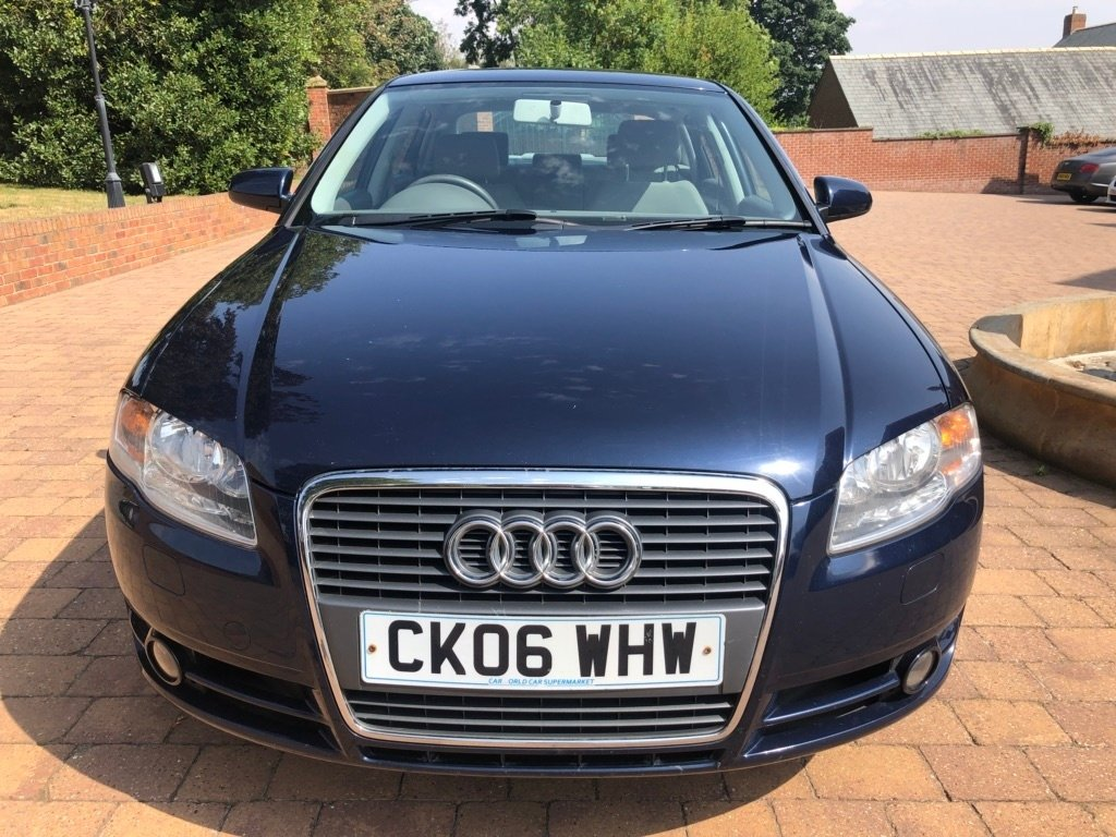 2006 Audi A4 - FSH, Timing Belt, Major Service For Sale (picture 1 of 6)