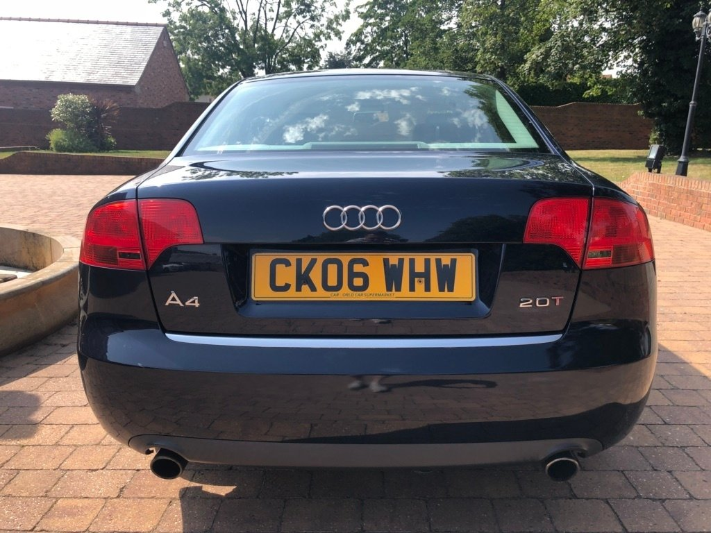 2006 Audi A4 - FSH, Timing Belt, Major Service For Sale (picture 4 of 6)