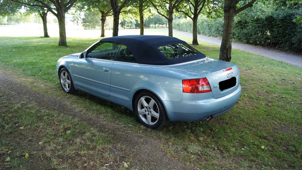 2003 Audi A4 Cabriolet 2.4 Sport For Sale (picture 2 of 5)