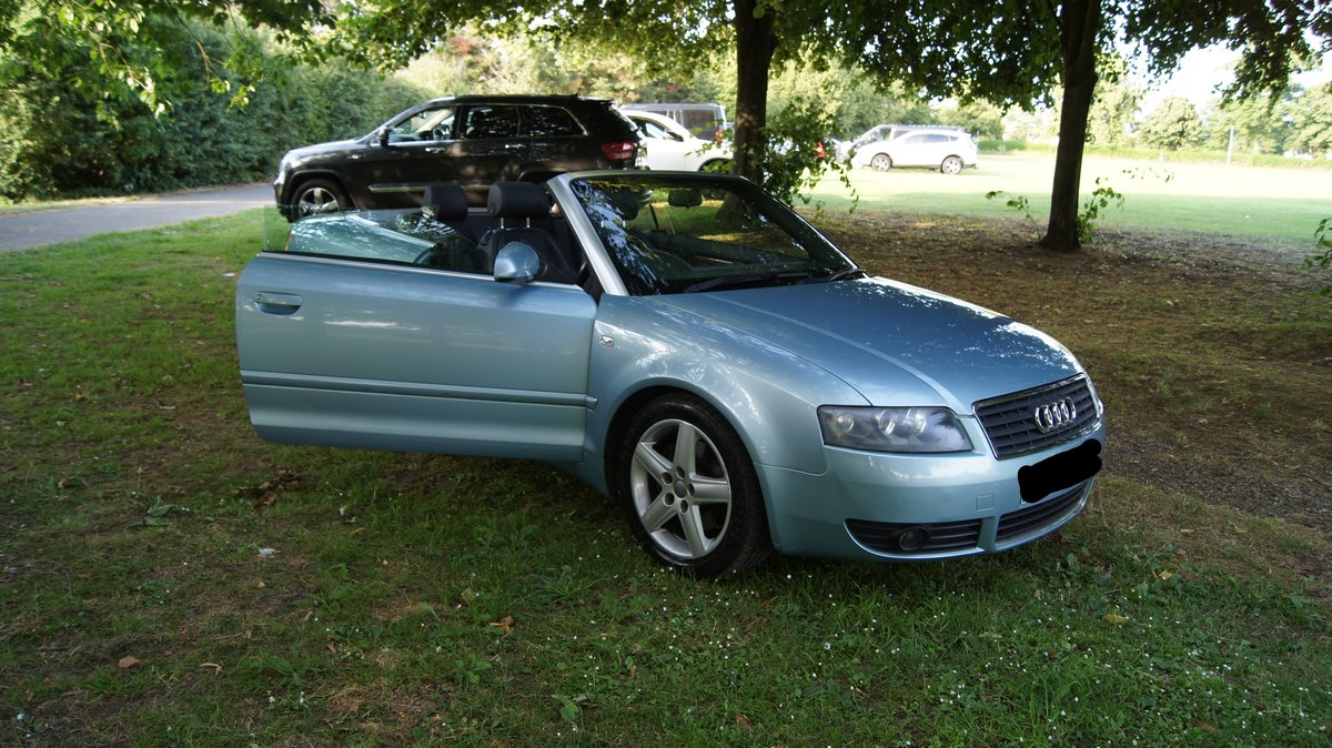 2003 Audi A4 Cabriolet 2.4 Sport For Sale (picture 3 of 5)