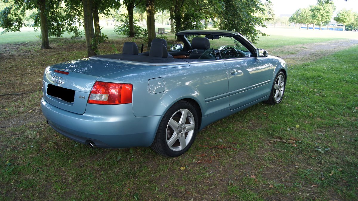 2003 Audi A4 Cabriolet 2.4 Sport For Sale (picture 4 of 5)