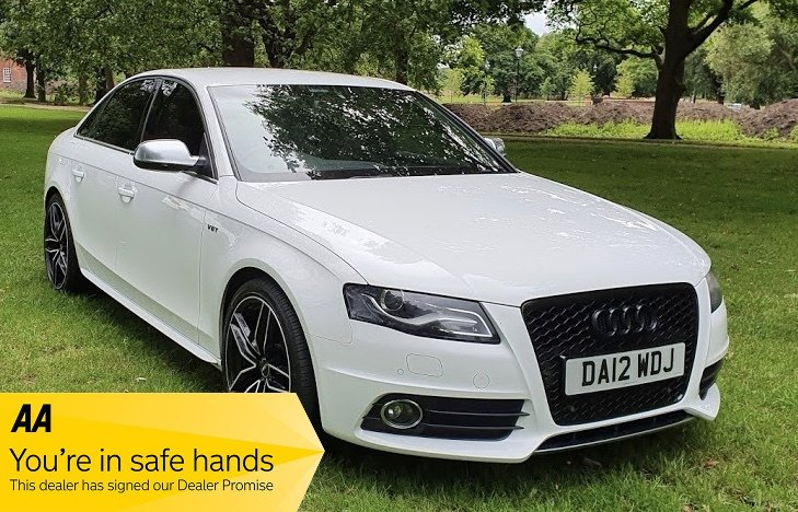 2012 Audi S4 3.0 TFSI V6 Quattro - 30,874 miles For Sale (picture 1 of 6)