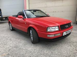 1994 Audi 80 Cabriolet/ Convertible 2.3  Auto L reg