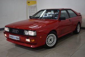 1991 AUDI QUATTRO 20V RR 30K BILLS AND INVOICE 2 OWNER