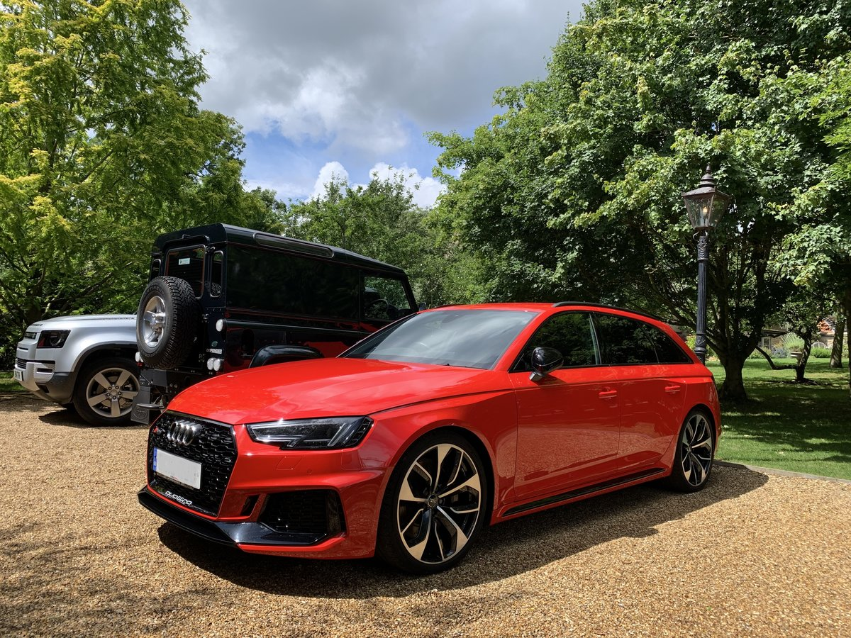 2018 Audi RS4 (B9)  - Perfect Condition For Sale (picture 1 of 6)