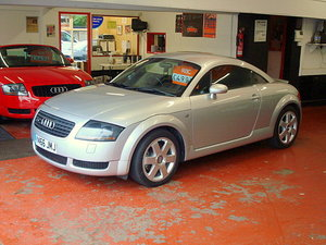Audi TT Silver, black leather, 67,000 miles