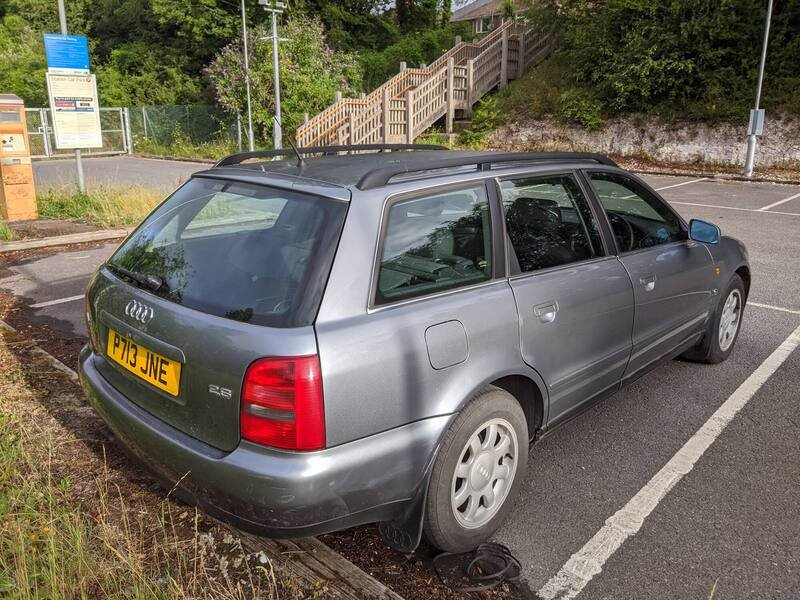 1997 Audi A4 2.6 SE Avant Manual For Sale (picture 1 of 6)